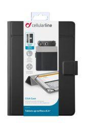"""CellularLine CLICK CASE 8,4"""" (černé)"""