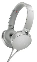 Sony MDR-XB550AP bílá