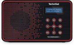 TechniSat TechniRadio 2 DAB červené