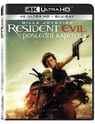 Resident Evil: Poslední kapitola - 2xBD (Blu-ray + 4K UHD film)