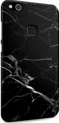 I-Paint černé mramorové pouzdro na Huawei P10 Lite