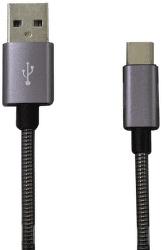 Mobilnet kabel USB typ C 2A 1m, šedá