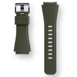 SAMSUNG Gear S3 zelený silikonový řemínek