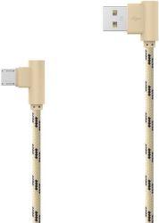 Mobilnet Micro USB kabel 2m, zlatý