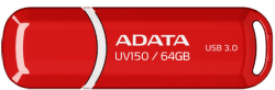 A-DATA UV150 64GB USB 3.0 červený