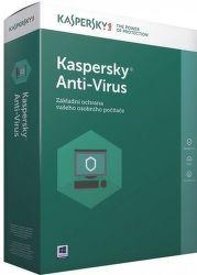 Kaspersky Anti-Virus 2017 3 PC / 1 rok + 3 měsíce zdarma