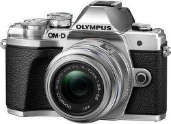 Olympus E-M10III Kit stříbrná