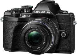 Olympus E-M10 Mark III černá + 14-42mm II R