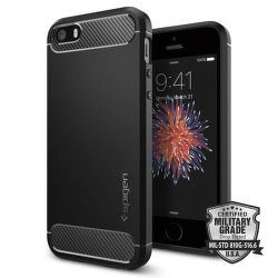 Spigen iPhone 5/5S/SE Case Rugged Armor, černá