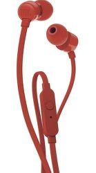 JBL T110 červená