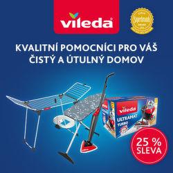 Sleva 25 % na výrobky Vileda a GIMI