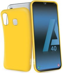 SBS gumové pouzdro pro Samsung Galaxy A40, žlutá