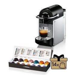 Nespresso De'Longhi EN125.S vystavený kus splnou zárukou
