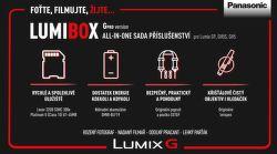 Panasonic LumiBox sada příslušenství pro G-pro verze pro Lumix G9, GH5 a GH5S