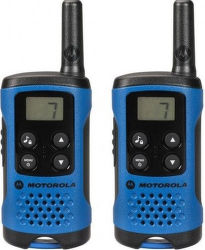 Motorola TLKR T41 vysílačka modrá