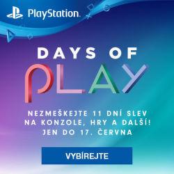 Days of Play - obrovské slevy na PS4 produkty
