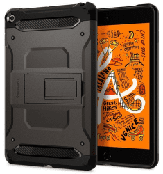 Spigen Tough Armor TECH kryt pro Apple iPad mini 2019 gunmetal