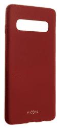 Fixed Story silikonové pouzdro pro Samsung Galaxy S10, červená