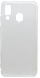 Mobilnet gumové pouzdro pro Samsung Galaxy A40, transparentní
