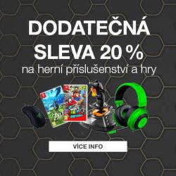 Dodatečná 20 % sleva na herní příslušenství a hry