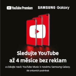 Sledujte YouTube až 4 měsíce bez reklam