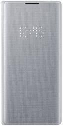 Samsung LED View knížkové pouzdro pro Samsung Galaxy Note10+, stříbrná