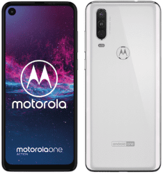 Motorola One Action bílý