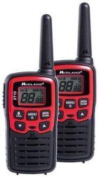 Midland XT10, čierno-červená