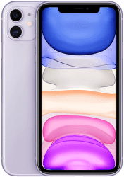 Apple iPhone 11 64 GB Purple fialový