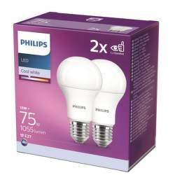 Philips 75W A60 E27 CW 2ks