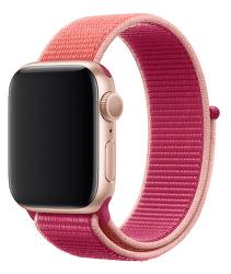 Apple Watch 44 mm sportovní provlékací řemínek, tmavě fuchsiový