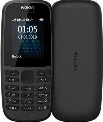 Nokia 105 Dual SIM 2019 černý
