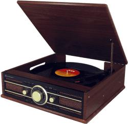 Soundmaster PL550 hnědé