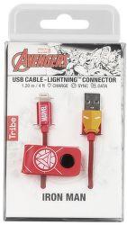 Tribe Lightning kabel 120 cm, Iron Man