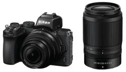 Nikon Z50 černá + Nikon Z DX 16-50 mm f/3.5-6.3 VR + Nikon Z DX 50–250 mm f/4.5–6.3 VR