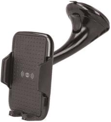 Forever WCH-100 univerzální držák s bezdrátovým nabíjením, černá