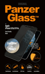 PanzerGlass Edge-to-Edge Privacy tvrzené sklo pro Apple iPhone 11 Pro/Xs/X, černá