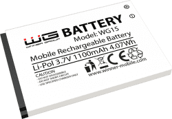 Winner náhradní baterie pro Winner WG15