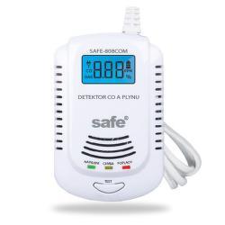 Safe 808 COM kombinovaný detektor plynů a CO