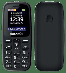Aligator A220 Senior černý