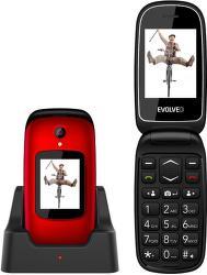 Evolveo EasyPhone FD červený