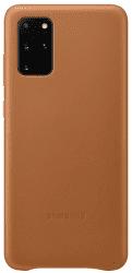 Samsung Leather Cover pro Samsung Galaxy S20+, hnědá