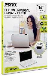 "Port Connect Privacy Filter 2D 14"" Clip On"