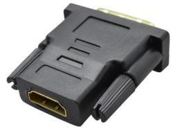 Mobilnet adaptér DVI samec (24+1) na HDMI samici