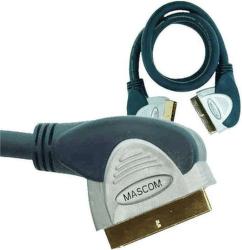 Mascom Scart 120° - Scart 120° (úhlový) 3m