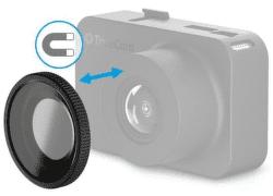 TrueCam magnetický CPL filtr pro TrueCam M5 Wi-Fi/M7 GPS Dual černý