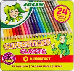 Jolly Supersticks Classic 24 pastelek