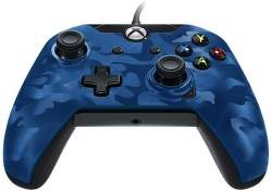 PDP Deluxe Wired Controller pro Xbox One (modrý)