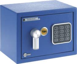 Yale YSV/170 /DB1 Sejf Mini modrý
