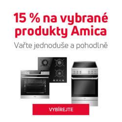 15 % sleva na vybrané produkty Amica